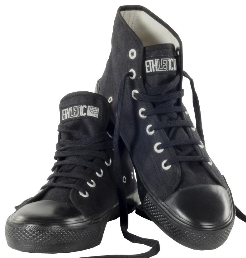 footwear sneaker shop ethletic sneaker boot black